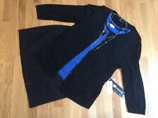 Women's 4 Pc Outfit: Xl Cardigan & Top; Nwt 16 Skirt; Nwot Necklace. Euc! B