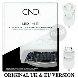 CND Shellac LED LAMP 36W Professional Curing Light Nail Dryer UK & EU Version