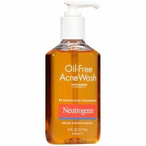 Neutrogena Oil Free Acne Wash 6 oz