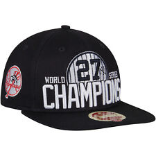 fdb06099f8211 NEW YORK YANKEES MLB 27X S WORLD SERIES CHAMPIONS NEW ERA SNAPBACK HAT CAP  NWT