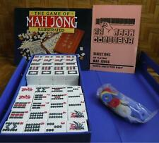 Mah Jong Travel Game with Book & Instructions