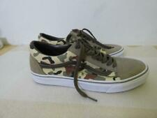 +VANS WASHED CAMOUFLAGE LACE UP MEN'S SNEAKERS sz 10 as is