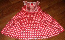 MAYORAL LITTLE GIRLS SIZE 5 BEAUTIFUL RED/WHITE SLEEVELESS DRESS