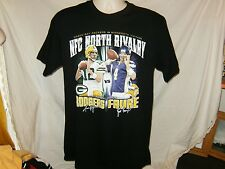Green Bay Packers Brett Favre vs Aaron Rodgers NFC North Rivalry