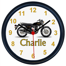 Personalised NORTON COMMANDO Classic Motorcycle Wall Clock