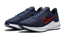 Nike Mens Downshifter 11 Running Shoe - BLUE RED