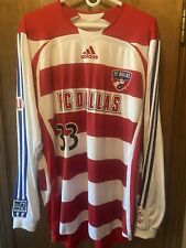 FC Dallas Kenny Cooper 2006 Game Used Worn Long Sleeve Home Jersey