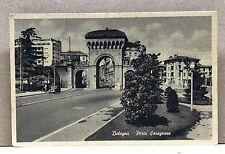 BOLOGNA - Porta Saragozza [piccolo, b/n, viagg. 1957]