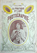 """Catalogue """"La pratique de l'art de la Photographie"""" George Brunel."""