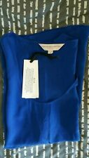 Ladies New Navy Blue French Conection Silk Vest Size 8
