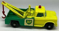 Matchbox Lesney No 13 BP Dodge Wreck Truck Wrecker Tow Truck - VNM