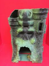 Castle Grayskull Mattel Inc. 1981 Incomplete Set, With Weapon Rack And Trapdoor