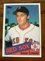 1985 Topps Set Break #181 Roger Clements RC - Red Sox NM or Better