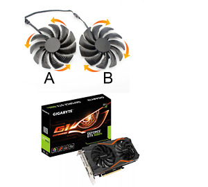 For Gigabyte GeForce GTX 1050Ti G1 Gaming 2G 4G 6G Replace Cooler Fan 88mm R12C