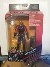 DC Multiverse, Suicide Squad, DEADSHOT  Action Figure, 6 Inches CROc WILL SMITH