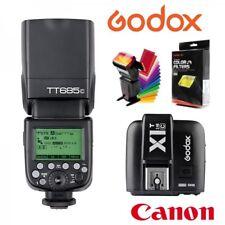 Kit Flash Godox TT685 Canon TTL HSS Gn60 y transmisor X1 2.4Ghz. Gratis difusor