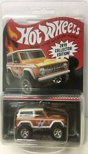 2019 HOT WHEELS RLC KMART ORANGE WHITE '67 FORD BRONCO MAIL AWAY IN HAND