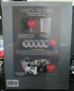 Garth Brooks The First Five Years Limited First Edition Book & 5 CD's NEW