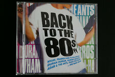 Various - Back to the 80s 2CD. (2004). 40 tracks