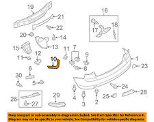 MAZDA OEM 07-12 CX-7 Rear Bumper-Retainer Bracket Left EG21502J1D