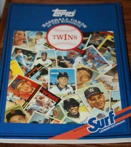 1987 Minnesota Twins  SURF Topps Baseball Cards 1952-86