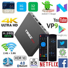 T95Z Max S912 Octa Core 3G 32G Android 7.1 TV Box Measy GP811 Wireless Keyboard