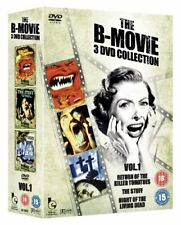 B MOVIE COLLECTION BOX SET VOL 1 - Return Of The Killer Tomatoes/... - DVD  L8VG