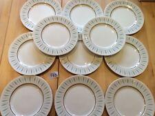 Set Of 11 Vintage Queen Anne Caprice 21.2 Cm Lunch, Breakfast or Dessert Plates