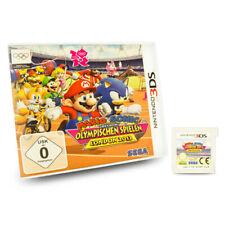 3ds Spiel Mario und Sonic Bei Den Olympischen Spielen London 2012 OVP