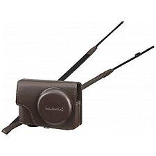 Panasonic LUMIX soft case brown DMW-CT85-T for DMC-TZ85-W TZ85-S