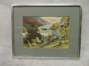 W. Heaton Cooper Print Loweswater from Iredale Place
