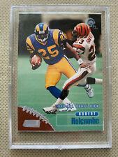 1998 Topps Stadium Club Draft Pick Rookie ~ ROBERT HOLCOMBE #184 ~ Rams RC Card