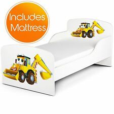 PRICE RIGHT HOME DIGGERS TODDLER BED PLUS FOAM MATTRESS INCLUDED KIDS BEDROOM
