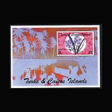 Turks & Caicos, Sc #1118, MNH, 1996, S/S, Flowers, Flora, FL017F