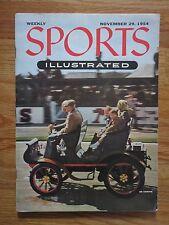 HEF PARKINS Sports Illustrated 11/29/54 Magazine No Label OLD CARS