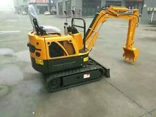Brand New 1 Ton Mini Yh10 Hydraulic Crawler Excavator Bulldoz Shipped by Sea