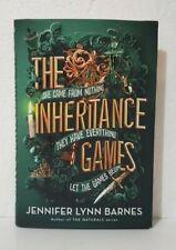 The Inheritance Games Hardcover by Jennifer Lynn Barnes
