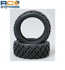 Tamiya 1.9 Inch Block Soft Rally Tires (2) TAM50476