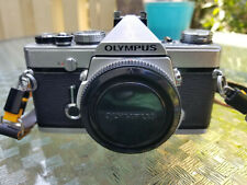Olympus Om-1 with 50Mm lens and other accessories!