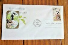 CANADA GOOSE  WILDLIFE OF THE FIFTY STATES 1987 NWF FARNAM CACHET FDC