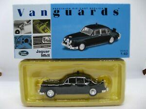 1:43 Jaguar Mk II Police Car in Black