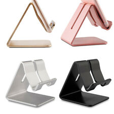 Universal Aluminum Cell Phone Desk Stand Holder for Samsung iPhone Table PC
