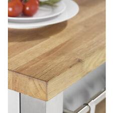 Solid Rustic Oak Worktop Top Quality Kitchen Wood Worktops 2m x 720 x 40mm