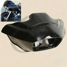 Vivid Black Injection ABS Inner & Outer Fairing For Harley FLTR Road Glide 98-13