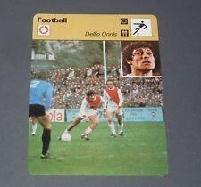 FOOTBALL 1978 AS MONACO LOUIS II ROCHER DELIO ONNIS GOLEADOR
