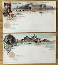 Vintage Postcards, Chicago, World's Columbian Exposition, 1893, Superb