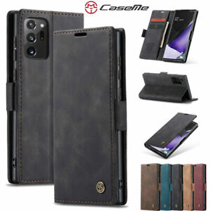 CaseMe Magnetic Leather Wallet Card Case Samsung Note 20 Ultra 10 Plus 5G