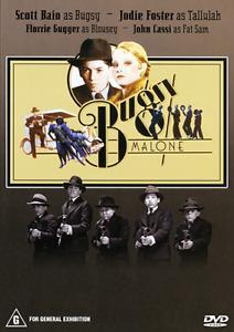 BUGSY MALONE DVD 1976 NEW Region 4 Jodie Foster, Scott Baio, Florence Garland