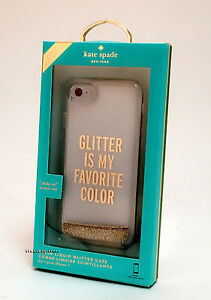 Kate Spade iPhone 7 iPhone 8 iPhone SE 2020 Case - Glitter Is My Favorite Color