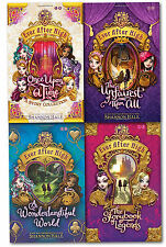 Shannon Hale Collection Ever After High 4 Books Set Once Upon a Time, Legends
